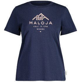 Maloja PlataneM. SS T-Shirt Women, night sky